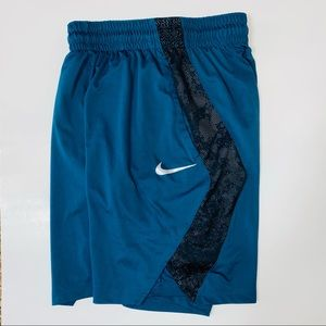 Nike Dri-fit basketball shorts men's small blue